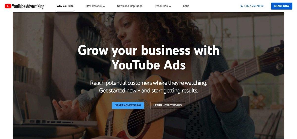 youtube video advertisement