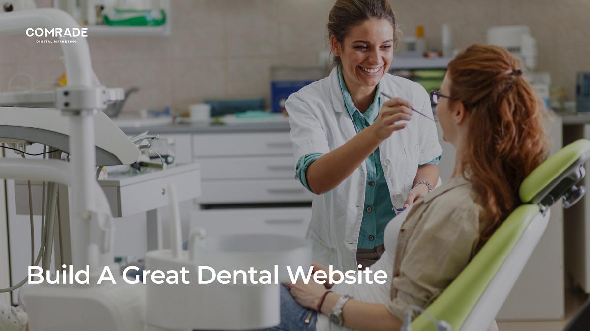 build a great dental website