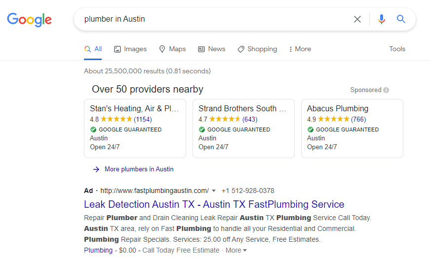 contractor services PPC