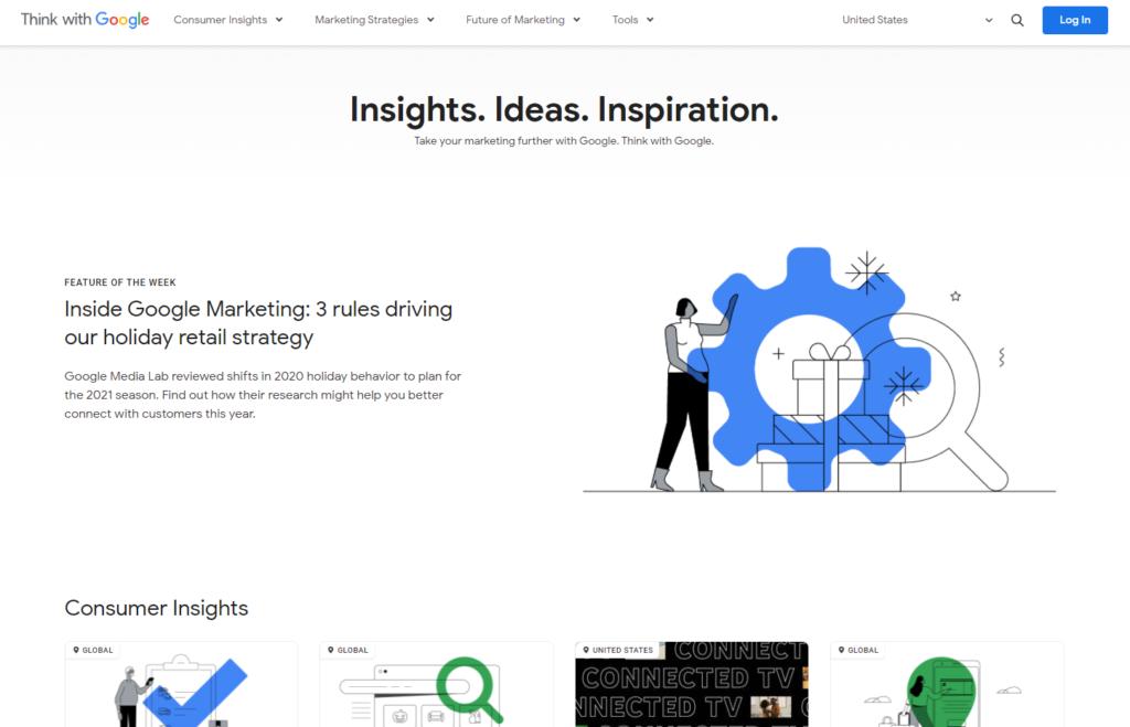 corporate marketing google toolbox
